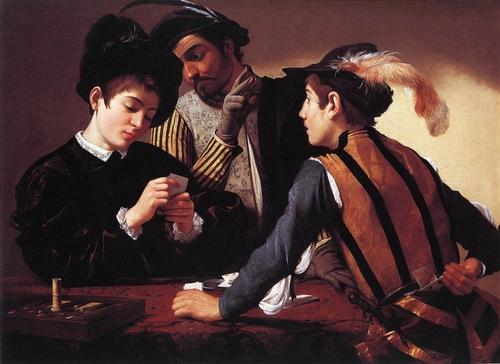 いかさまトランプ師Caravaggio-The-Cardsharps-1596.jpg