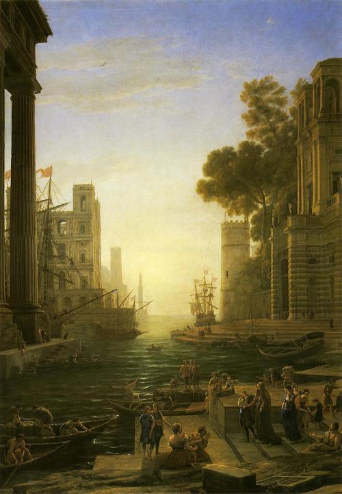 聖パウラが上陸するオスティアの港.jpg